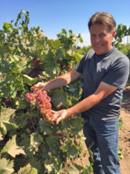 Greg Burns, owner and winemaker of Jessie's Gove