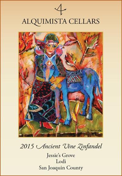 2015 Jessie's Grove Ancient Vines Zinfandel