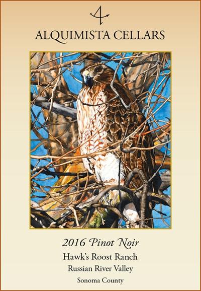 2016 Hawk's Roost Ranch Pinot Noir