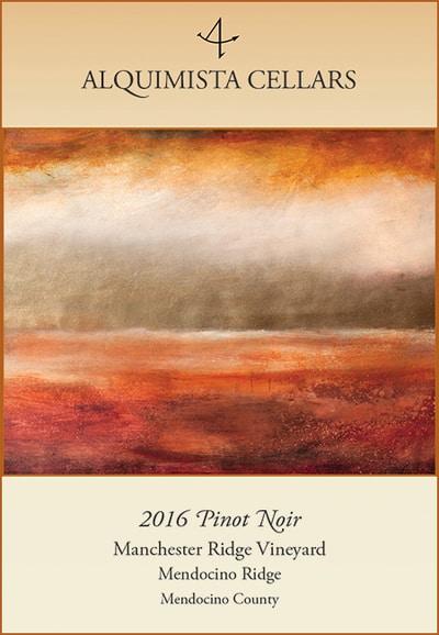 2016 Manchester Ridge Vineyard Pinot Noir