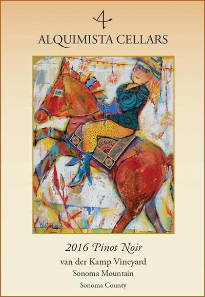 2016 van der Kamp Vineyard Pinot Noir